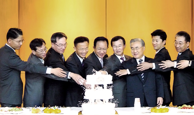 Aggregate company sales exceeds 1 trillion won